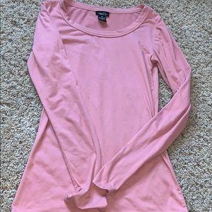 Dusty pink long sleeve
